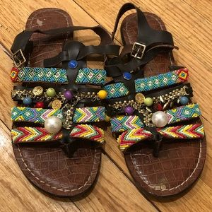Sam Edelman Funky Beaded Sandals